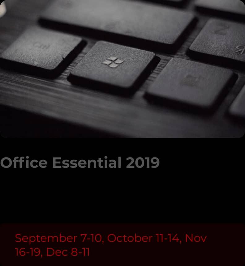 Office Essential 2019